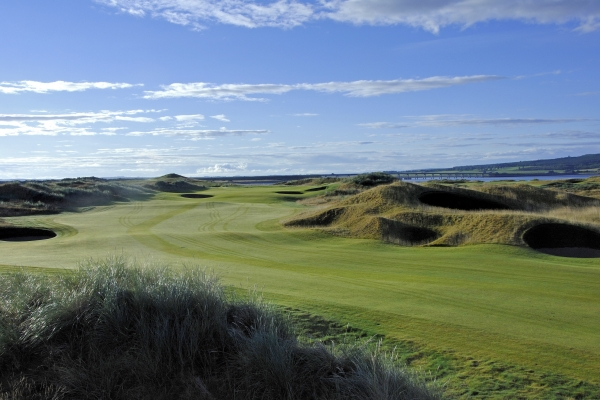 County Fescue at Carnegie Links Skibo Castle, Scotland