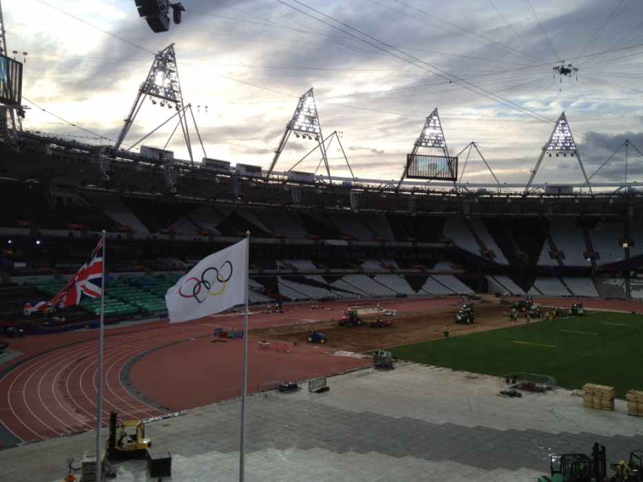 County Turf at the London 2012 Olympics