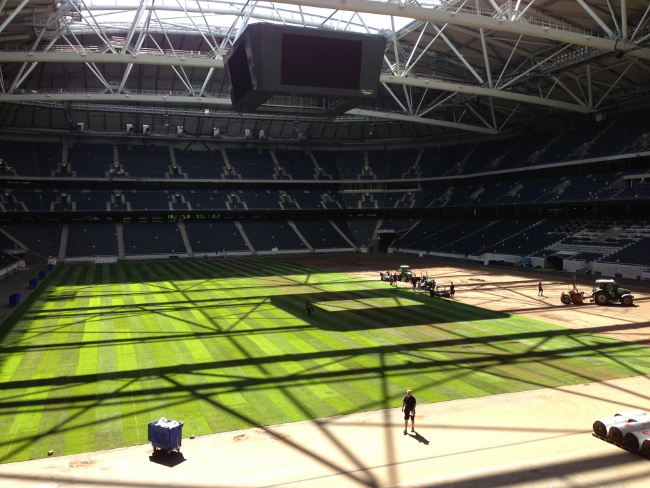 Friends Arena Stockholm County Stadia Installation