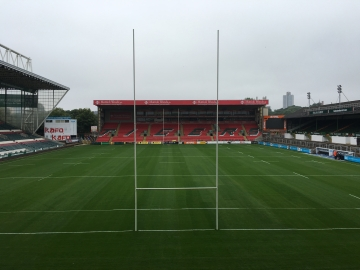 Leicester Tigers stay loyal to a natural pitch