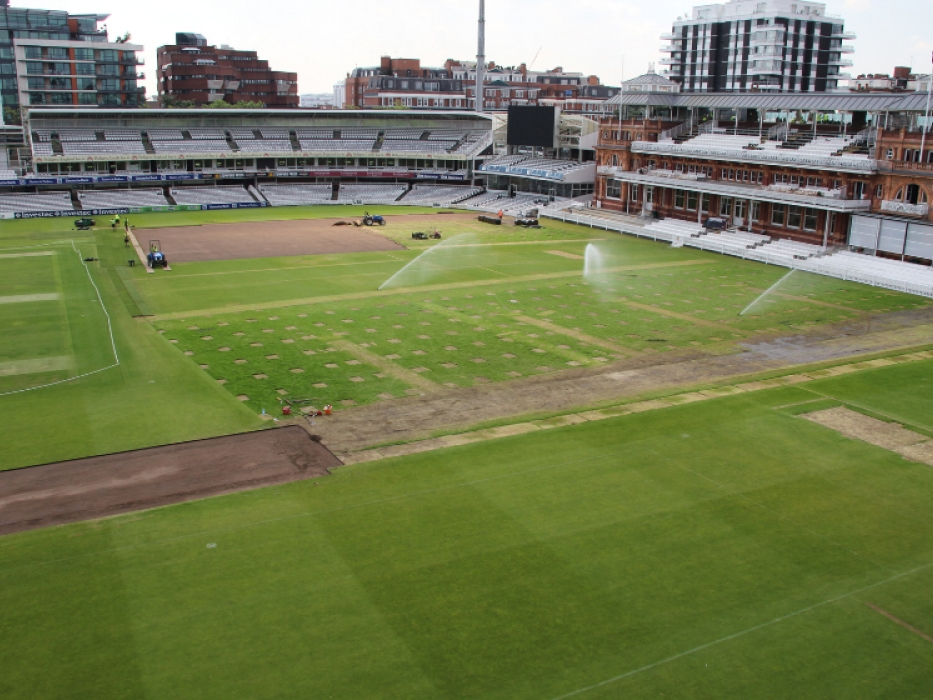 Lord's outfield post Olympics