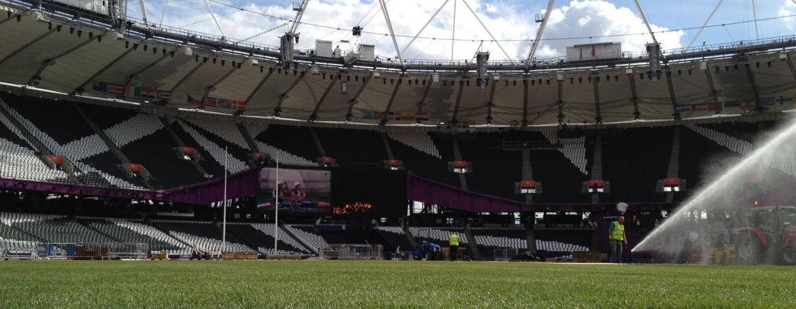 Official supplier of natural sports turf (Olympic Venues) London 2012